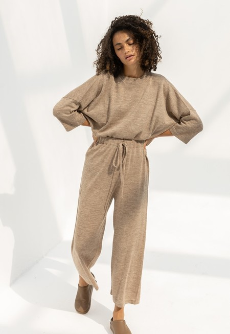 Lauren Manoogian Facil Pants - Oak Flax