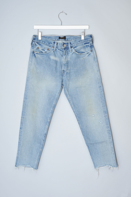 Chimala Very Light Selvedge Tapered Cut Jeans by Chimala
