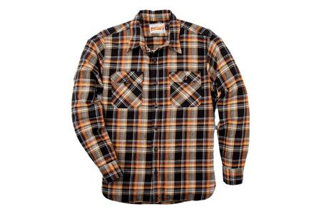 Freenote Cloth Jepson Shirt - Black Shadow Plaid