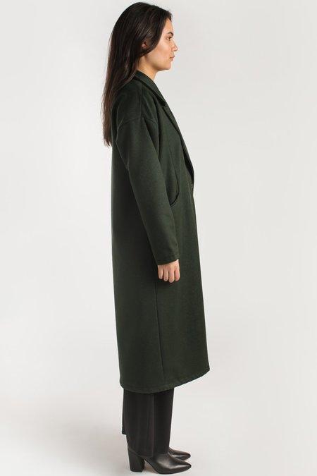 Allison Wonderland Circle Coat - Forest