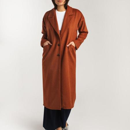 Allison Wonderland Circle Coat - Rust