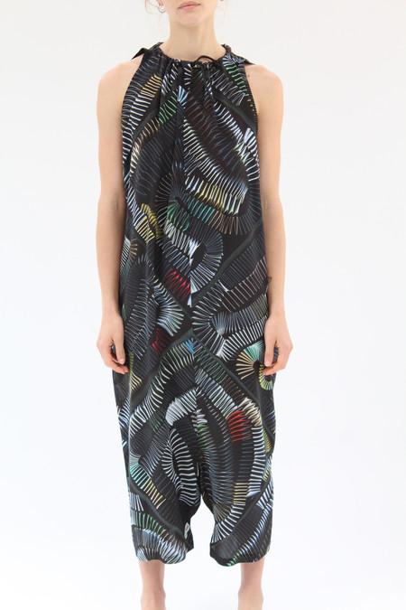 Hui Hui Silk Overall Dress Springgy Stairs