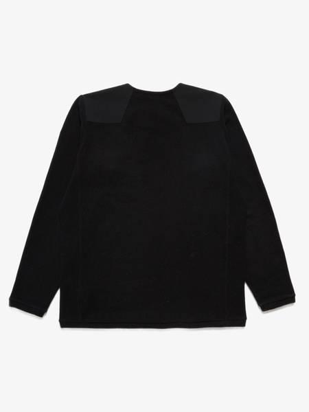 PRE-LOVED Arc'Teryx Male Wool Shoulder Detailes Sweatshirt - black