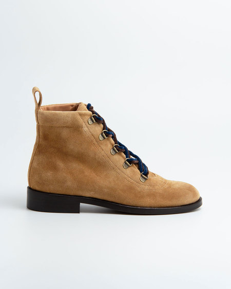 Naguisa Raso Boot - Brown