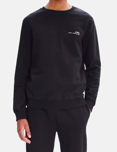 A.P.C. Item Sweatshirt - Black