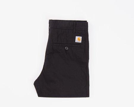 CARHARTT WIP Menson Pants - Black Twill