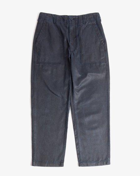Engineered Garments Coated Twill Fatigue Pant - Dark Navy