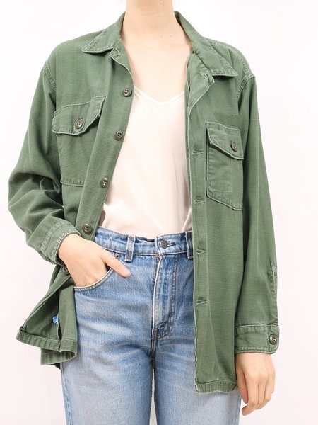 Vintage 1970's army 3 jacket  - ARMY GREEN