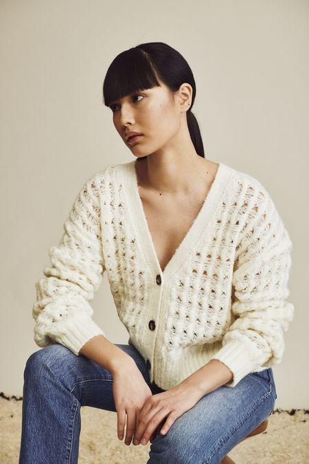 John & Jenn Robinson Sweater - Bone