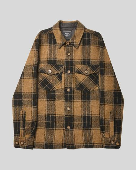 Portuguese Flannel Wool Side Overshirt