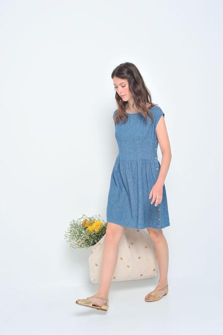 Des Petits Hauts Leontine Denim Dress
