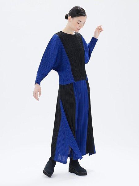 Pleats Please by Issey Miyake Track Pants - blue/black