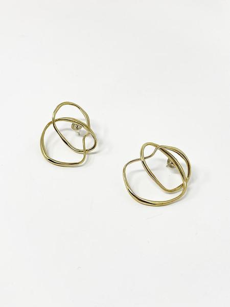 Faris Vinea Knot Earrings