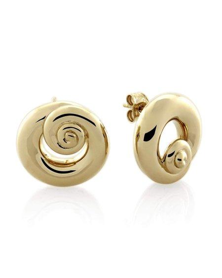 Mineraleir Swirl Stud Earring 1