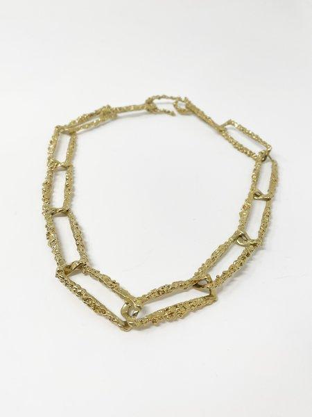 Faris Roca Chain Collar - gold