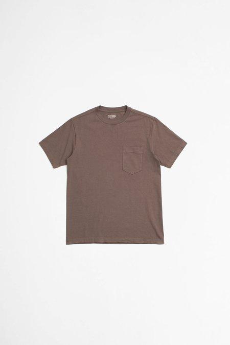Lady White Co. Balta Pocket T-shirt - Roasted Plum