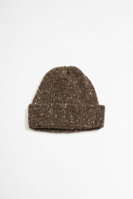 Universal Works Wool Short Watch Cap - Kilkarra Brown