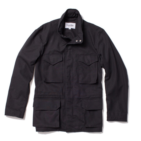Corridor Unlined Ripstop M65 - Black