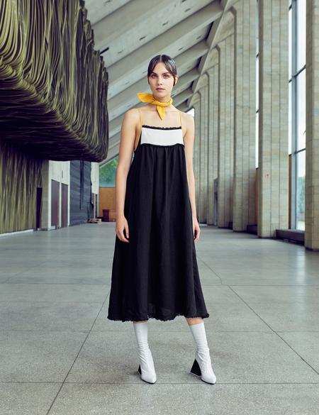 D. Efect Whitley Strap Dress
