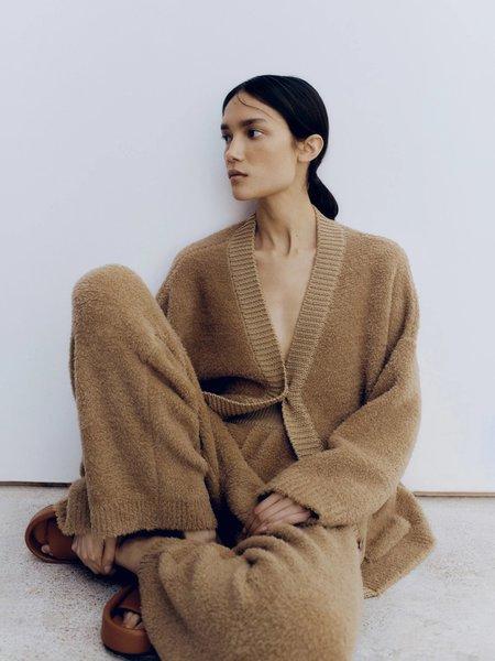 Monica Cordera Shearling Pant - Camel