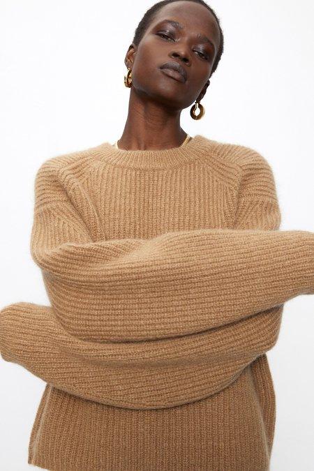 Kathleen Camel Knit Sweater