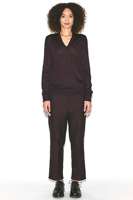 Perfect V-Neck Sweater-Black
