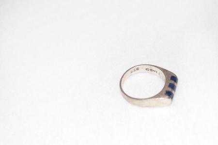 Clan of Cro VINTAGE Blue Sodalite Ring - Silver