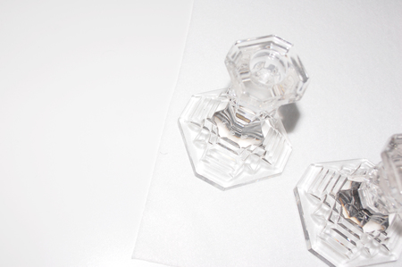 Clan of Cro VINTAGE Candle Stand Set - Crystal
