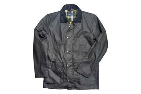 Milworks Waxed Field Jacket - Black