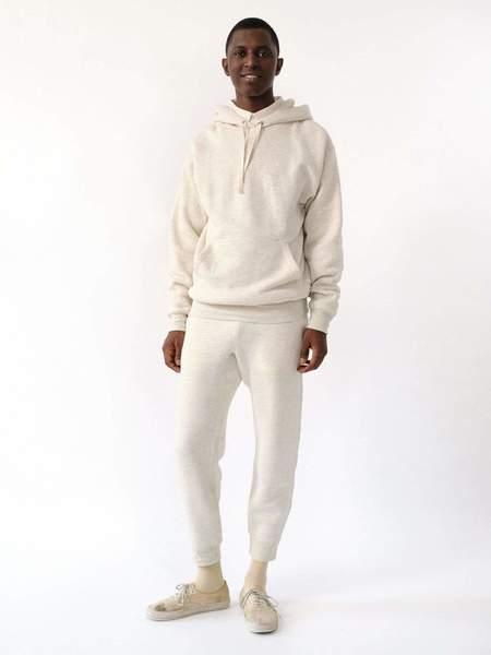 MAGILL Easton Lux Fleece Sweatpants - Oatmeal