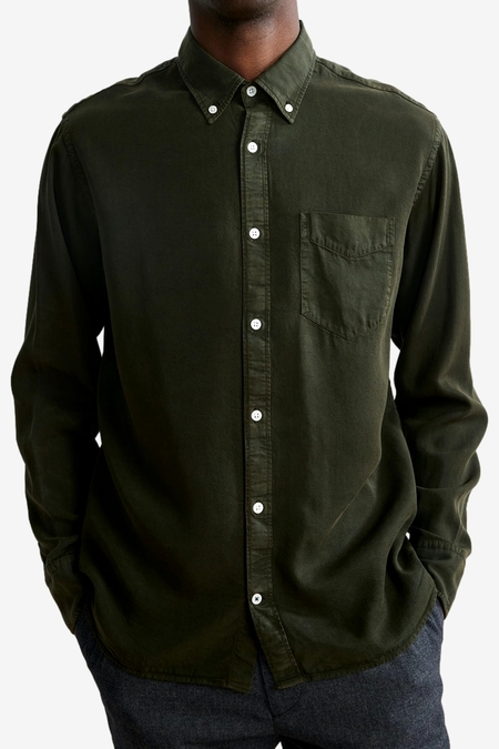 NN07 Levon 5969 Shirt - Dark Army