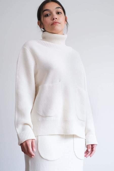 L.F.Markey Kael Knit SWEATER - Off-White