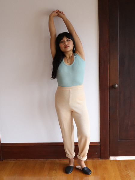 DUO NYC VINTAGE KNIT PANTS