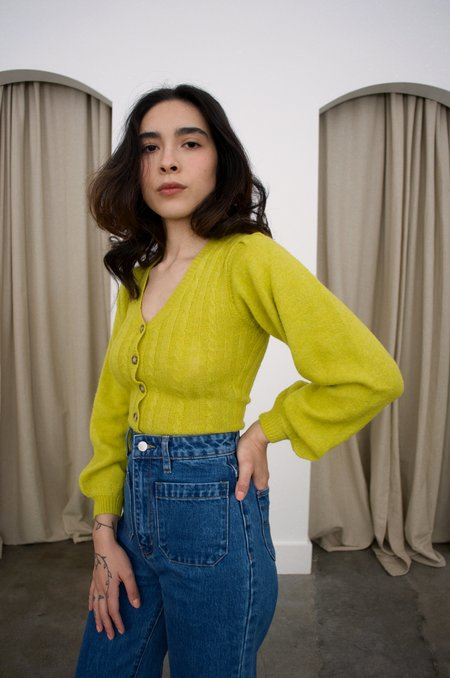 Tach Clothing Corina Bodysuit - Pistachio