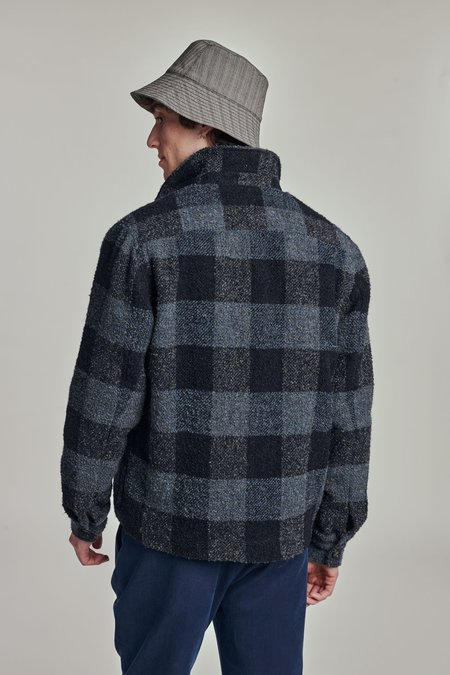 Delikatessen AW 20/21 The jacket - blue/gray/black