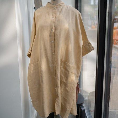 Myrah Penaloza Aquarian Gown - Linen
