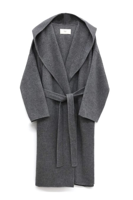 ARCH THE Long Hood Coat - Grey