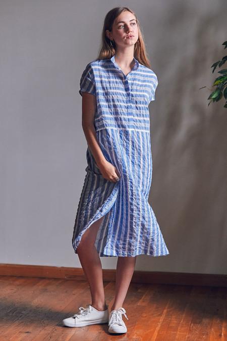 Liam of York Mandarin Collar Dress