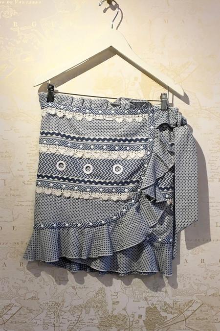 Dodo Bar Or 'Abigail' Wrap Mini Skirt
