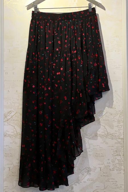 IRO 'Jonel' Floral Tiered Skirt