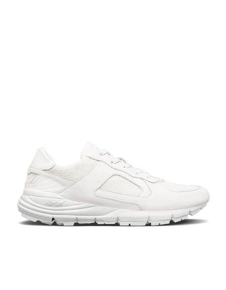 Clae Edwin Women's Sneaker - Triple White Leather