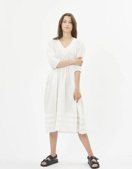 Minimum Anthea Midi Dress - Broken White