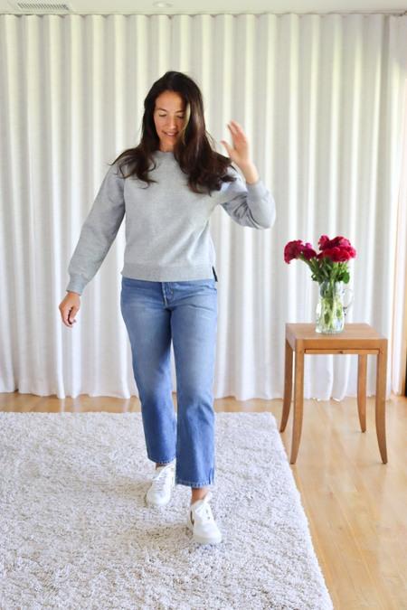 Alex Mill Lakeside Sweatshirt - Heather Grey