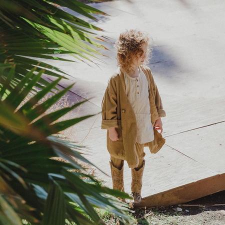 Kids Nico Nico Child Quest Corduroy Jacket - Camel Brown