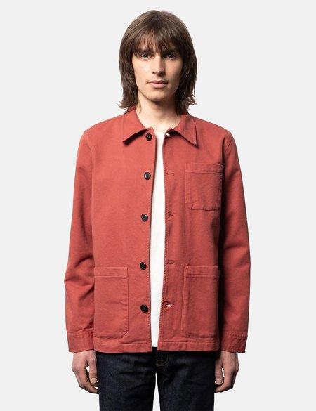 Nudie Jeans Barney Worker Jacket - Poppy Red