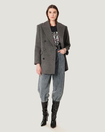 IRO Lidi Wool Coat - Grey