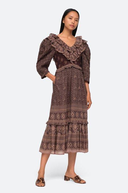 Sea NY Nadine Dress - Chocolate