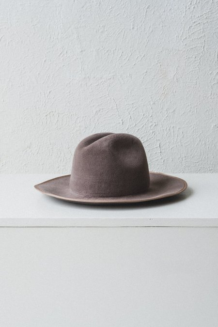 Brookes Boswell Savoy Velour Felt Hat