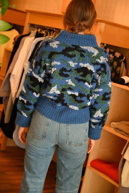 Mozh Mozh Vendella Sweater - Multi Blue