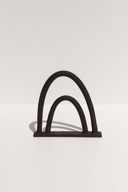 Deborah Sweeney Landscape Vase 3 - Black